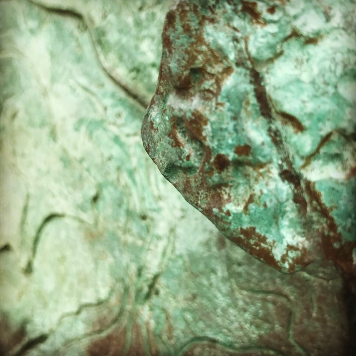 Detail of sculpture in Little Italy. #accidentalartsy #gloomy